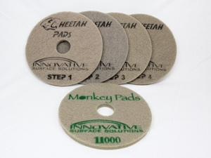 Cheetah System-Marble & Stone Polishing Pads