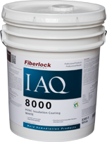 Fiberlock IAQ 8000 Hvac Insulation Sealer - White