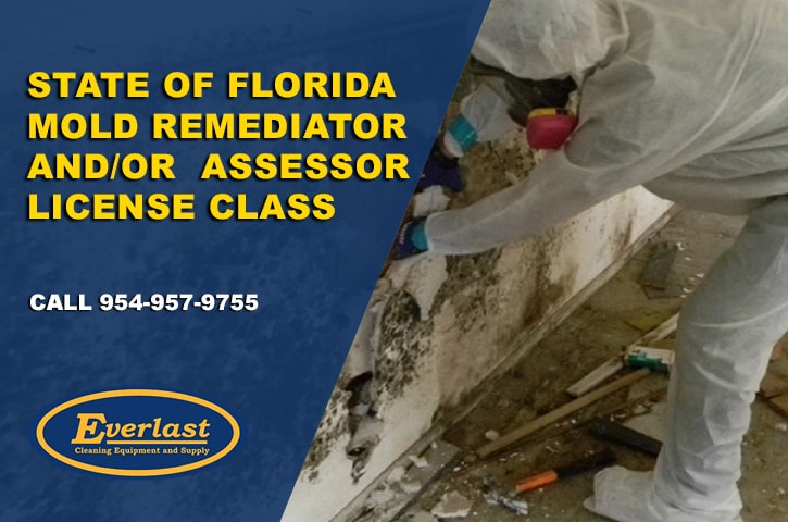 STATE OF FLORIDA MOLD REMEDIATOR AND / OR ASSESSOR LICENSE CLASS