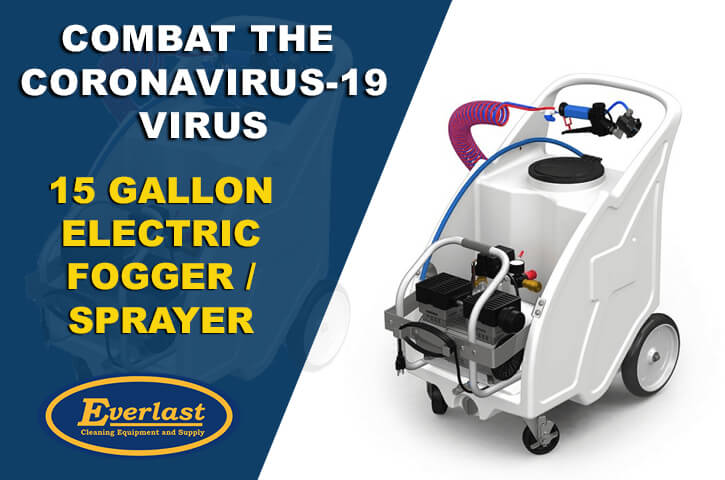 Combat the Coronavirus-19 virus 15 gallon Electric Fogger / Sprayer